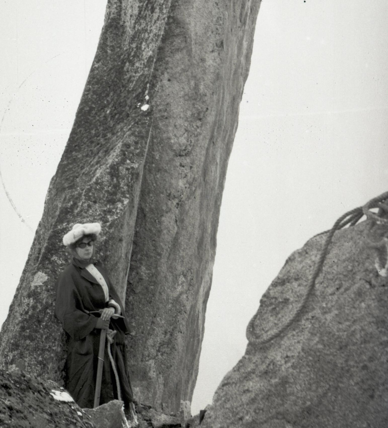 Woman of the Alps, circa 1905