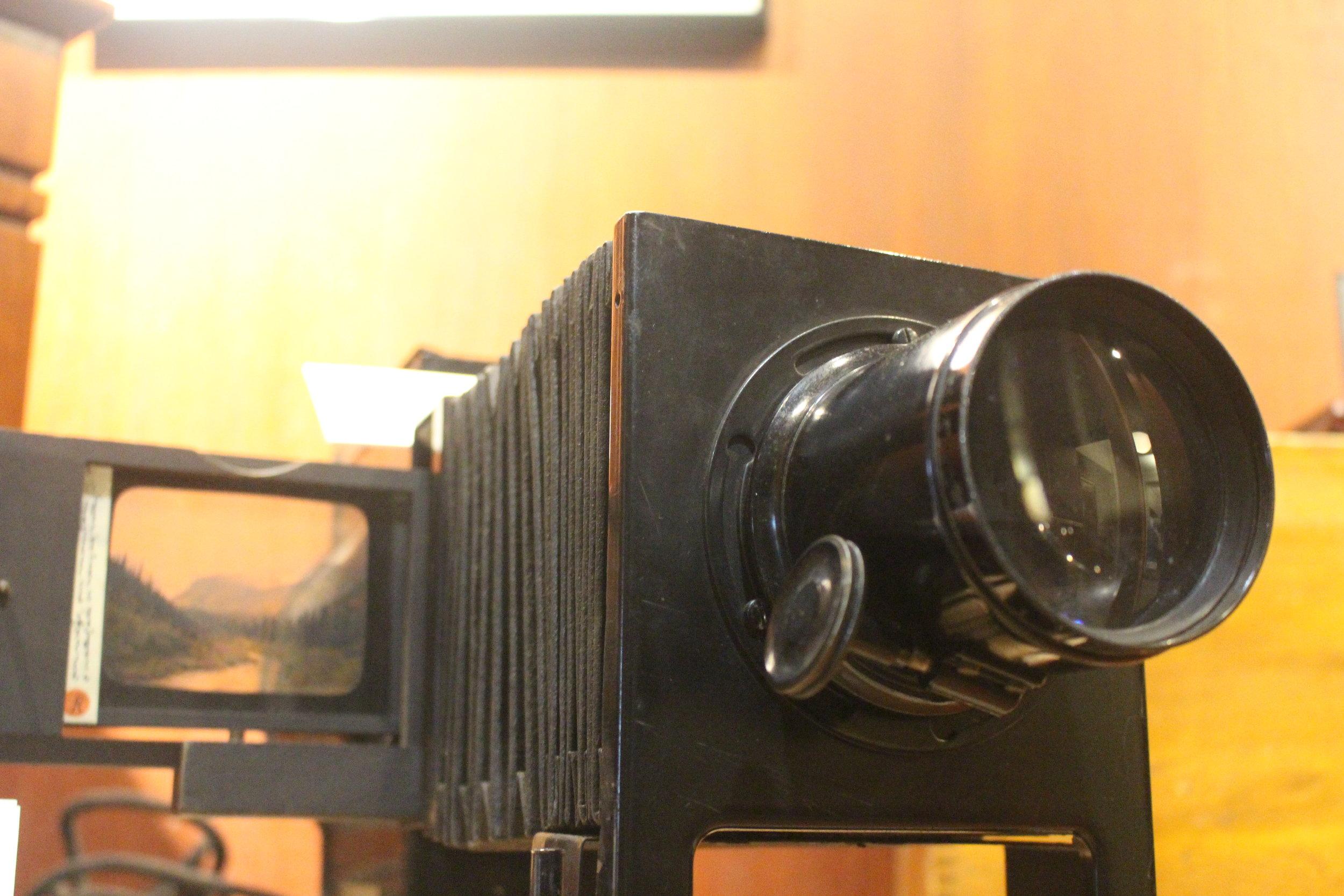 "Model C ""Balopticon"" Lantern Slide Projector"