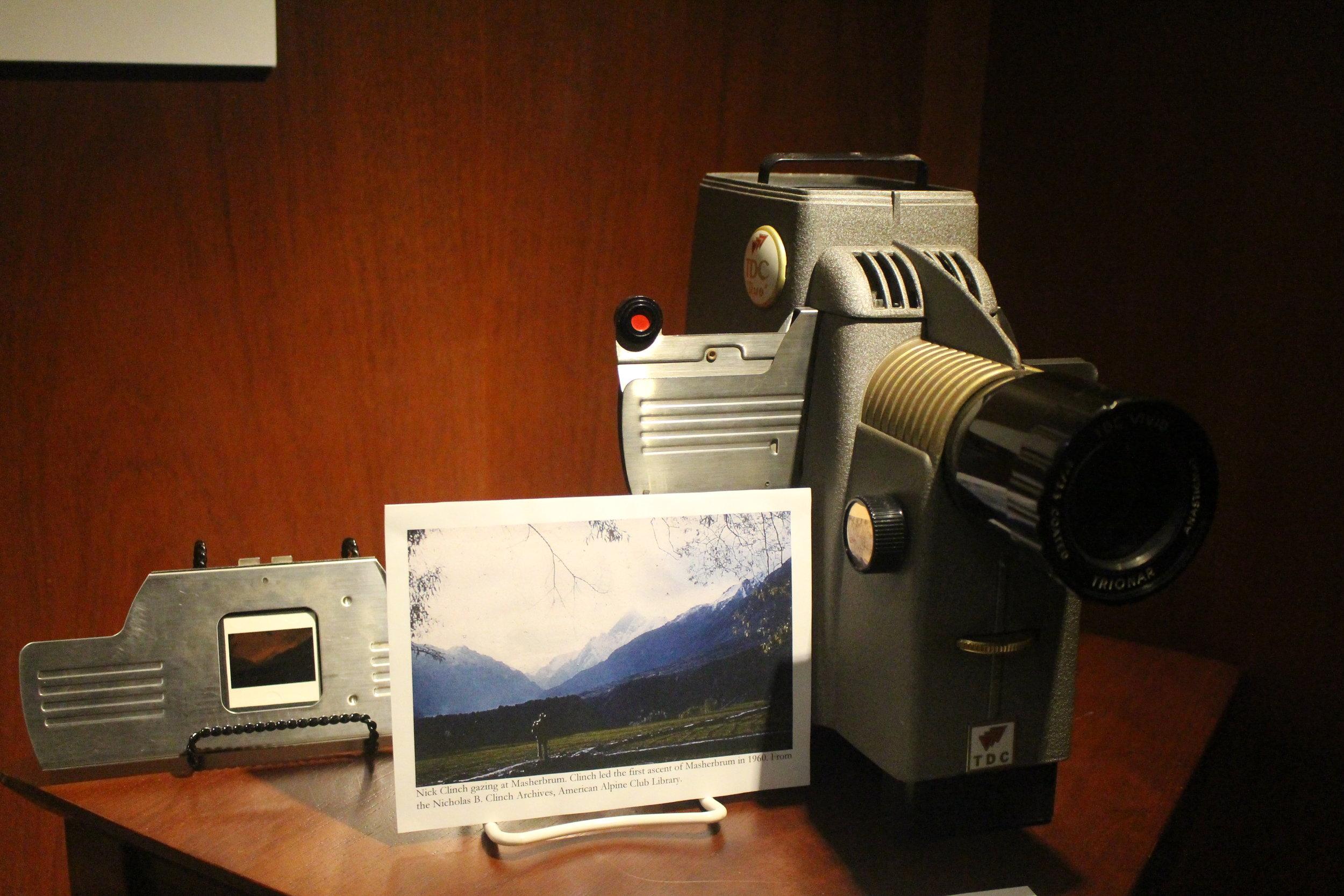 "TDC ""Duo"" Streamliner 500, Model 151 35mm Slide Projector"