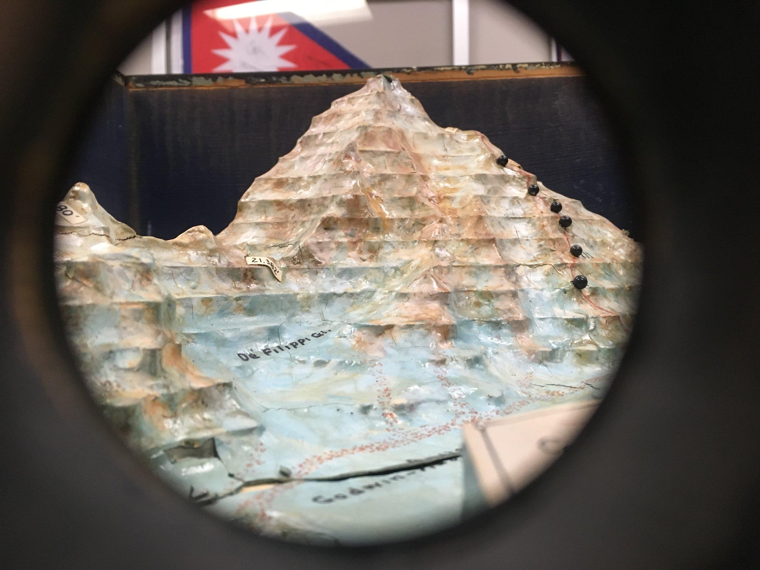 A view through the peephole