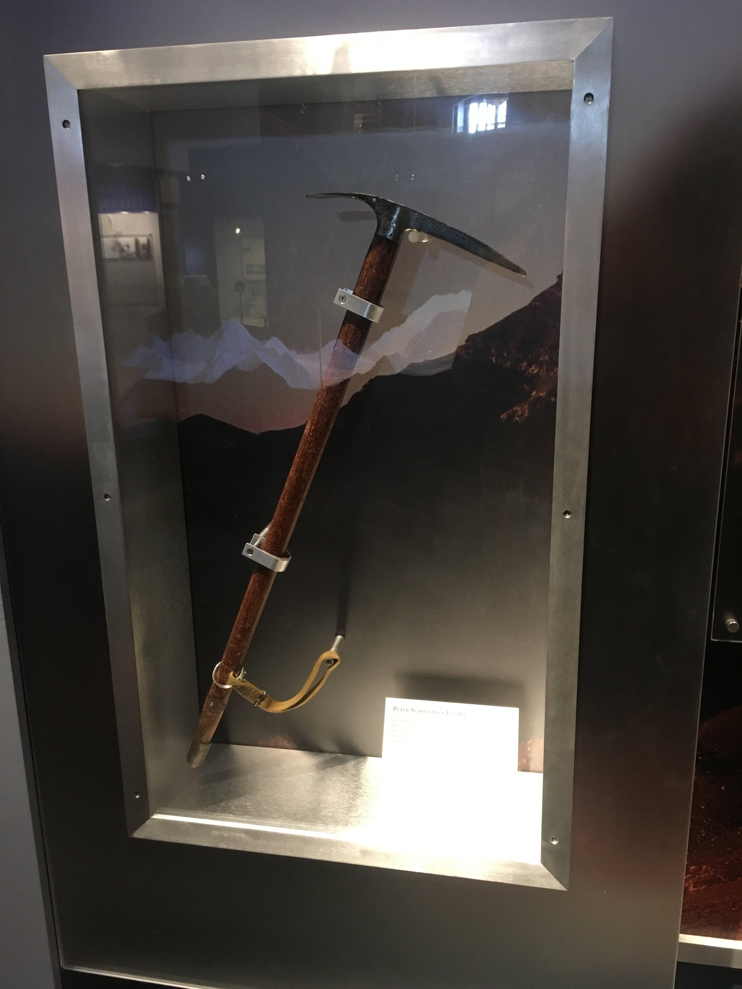 Schoening's Ice Axe