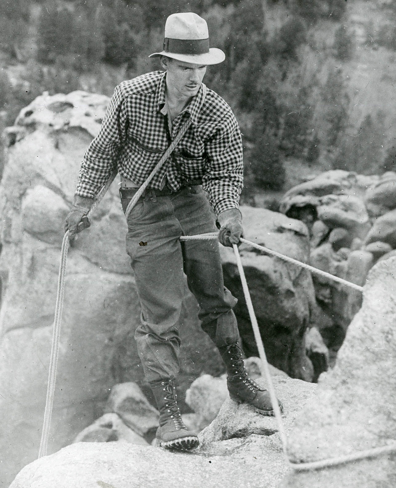 A generation ago, every climber learned to rappel. Early rappel techniques, like the Dulfersitz, helped climbers learn the relationship between the body and rope friction. These techniques still work, but they don't provide many options for backups or added security.