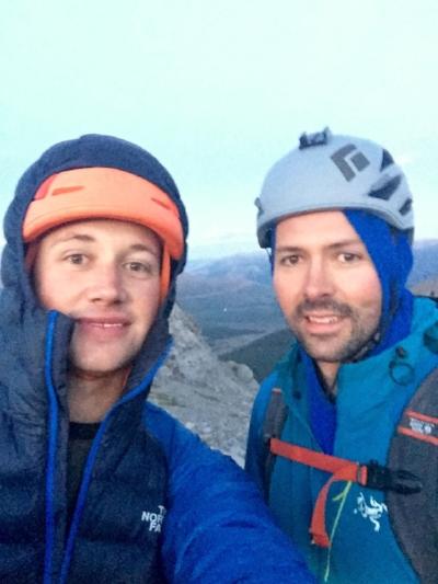 Matt (left) and Ryan.