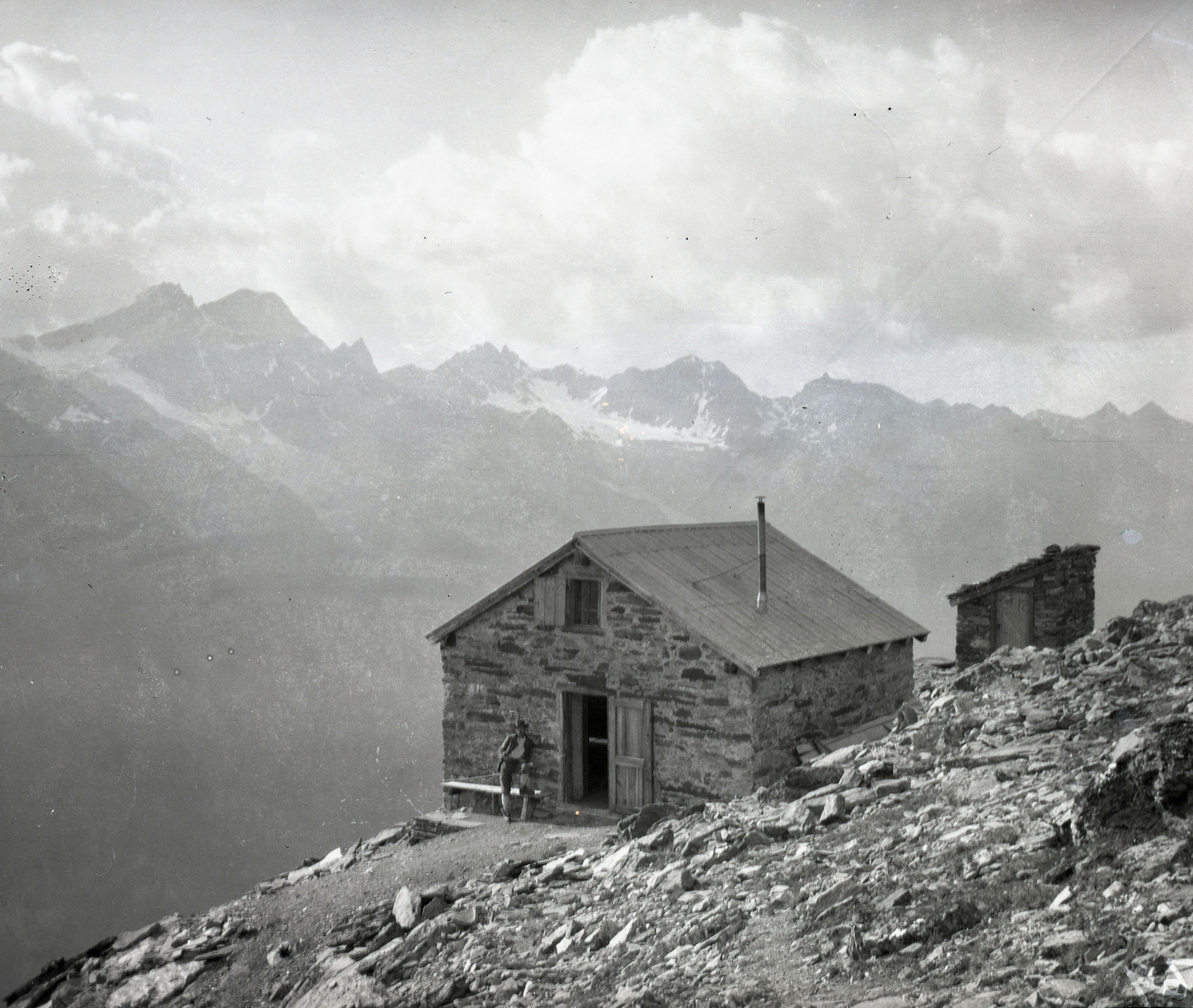 A hut in the Alps