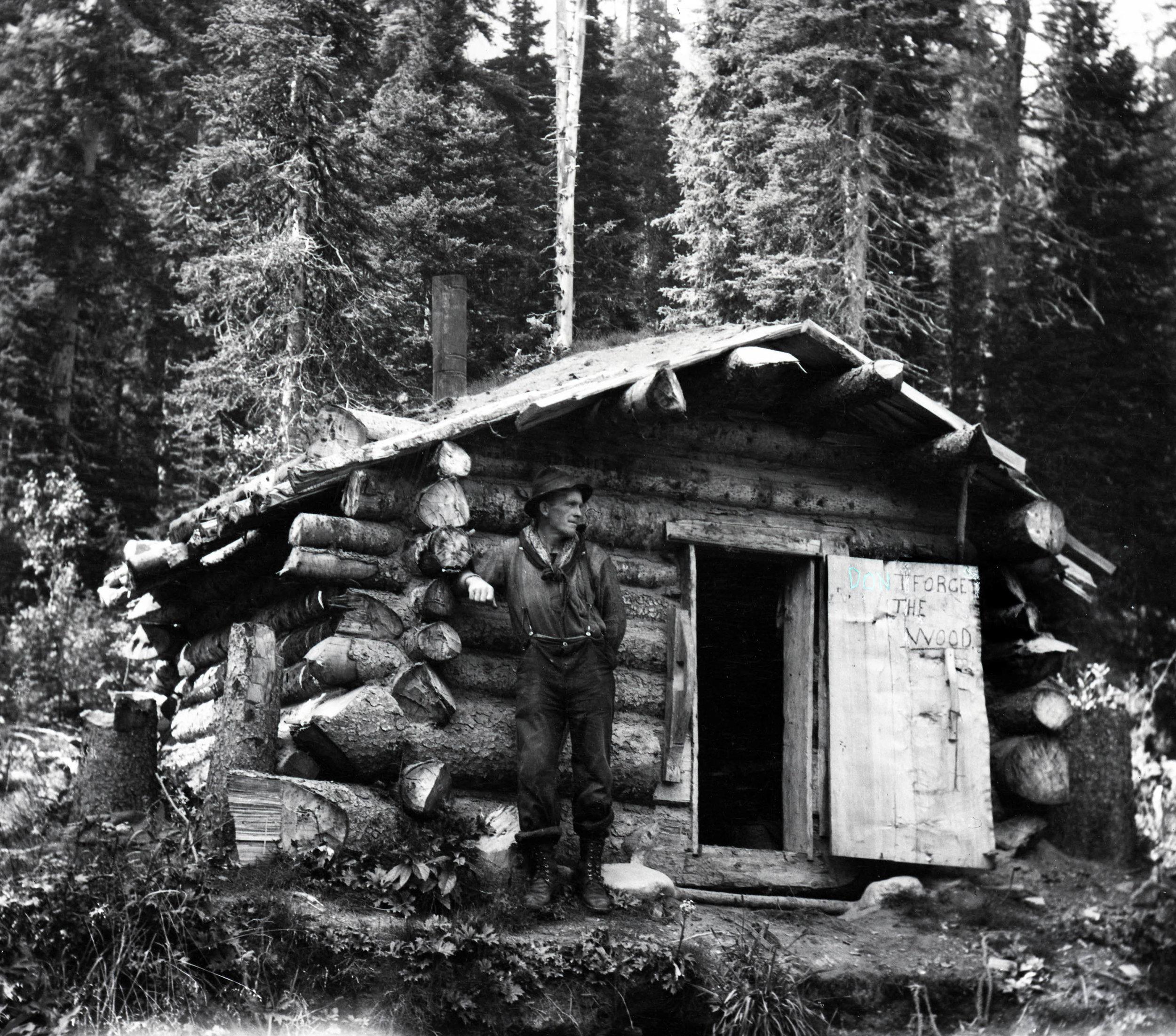 A trapper's cabin