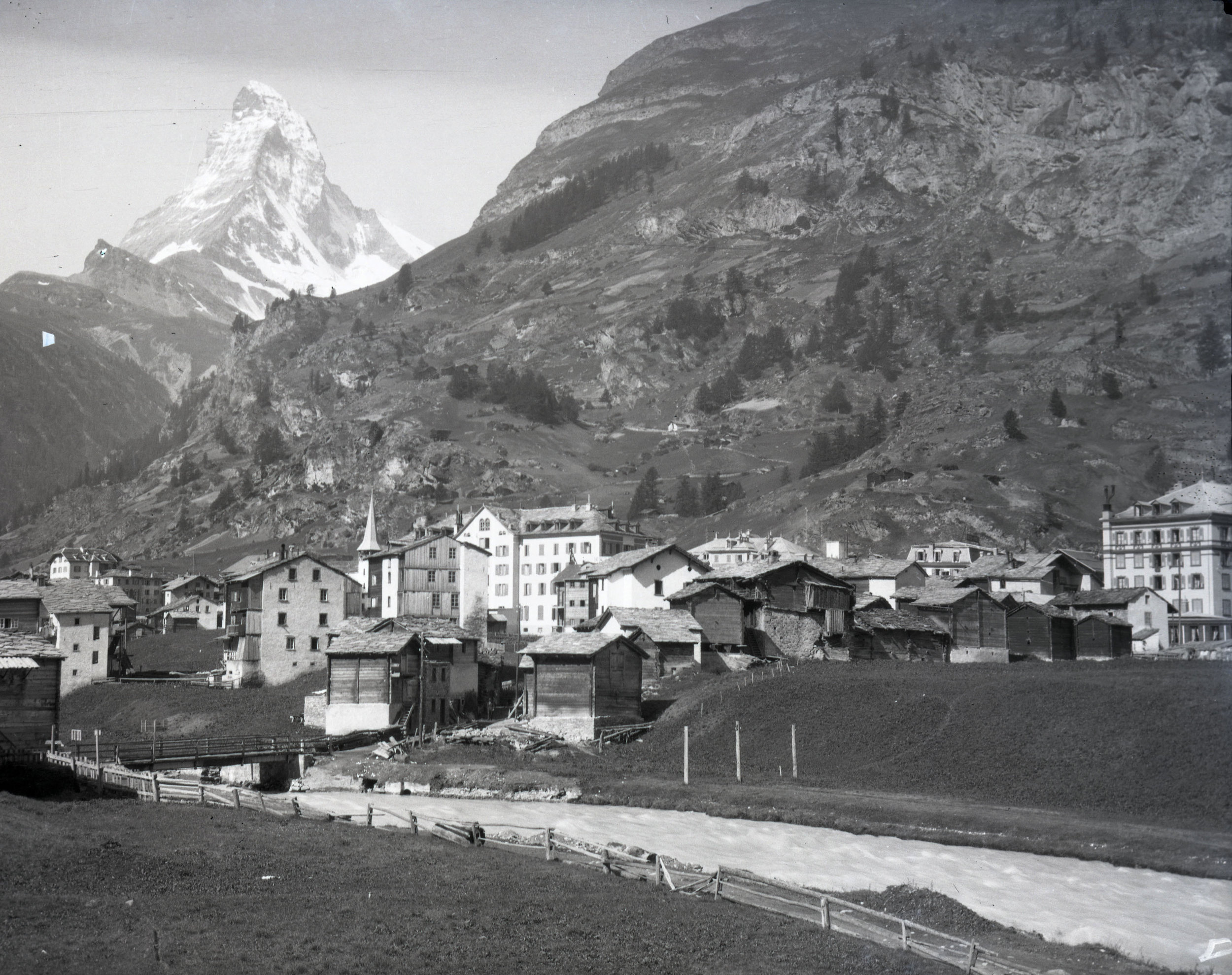 Zermatt, Switzerland and the Matterhorn