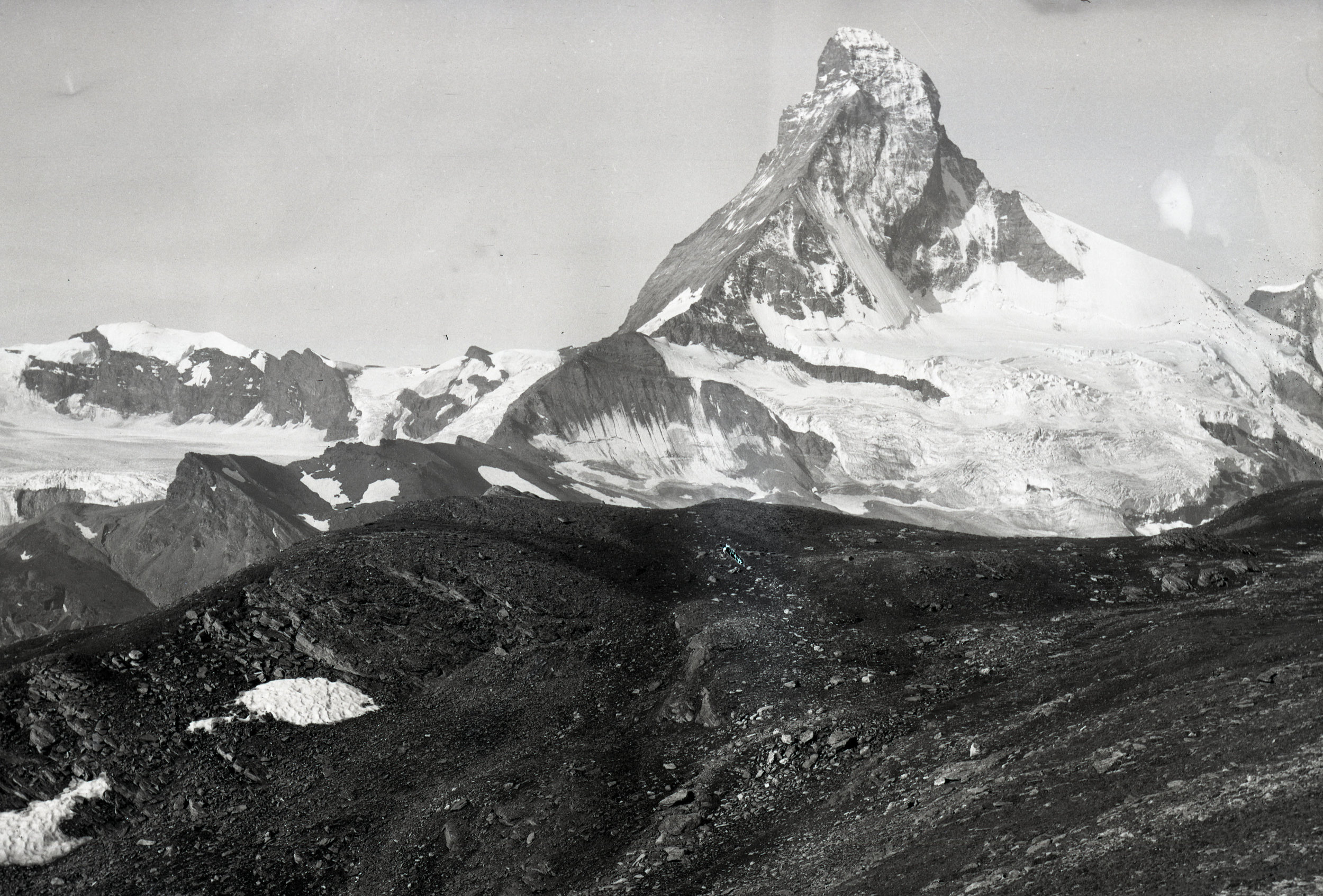 The Matterhorn, photographed from the North