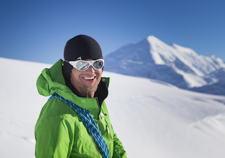 Denali ranger Dave Weber. Photo by Menno Boermans