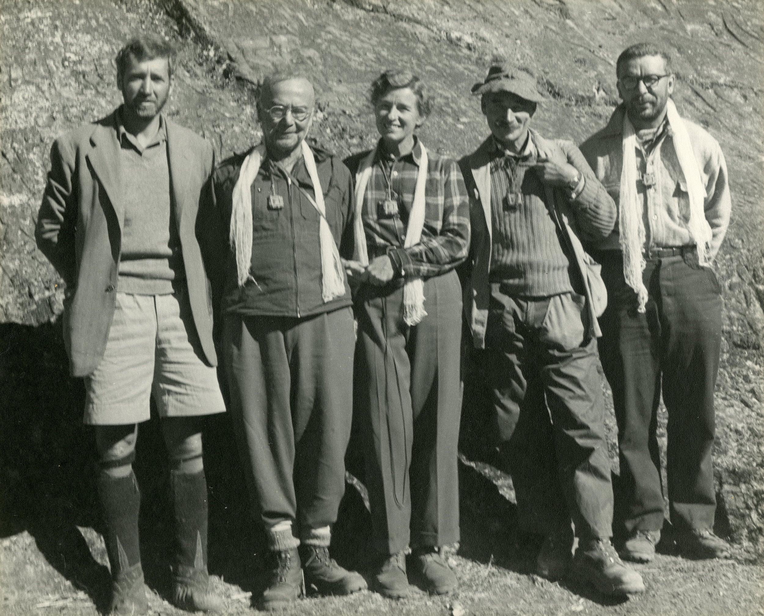 1950 Houston Expedition, Everest Reconnaissance