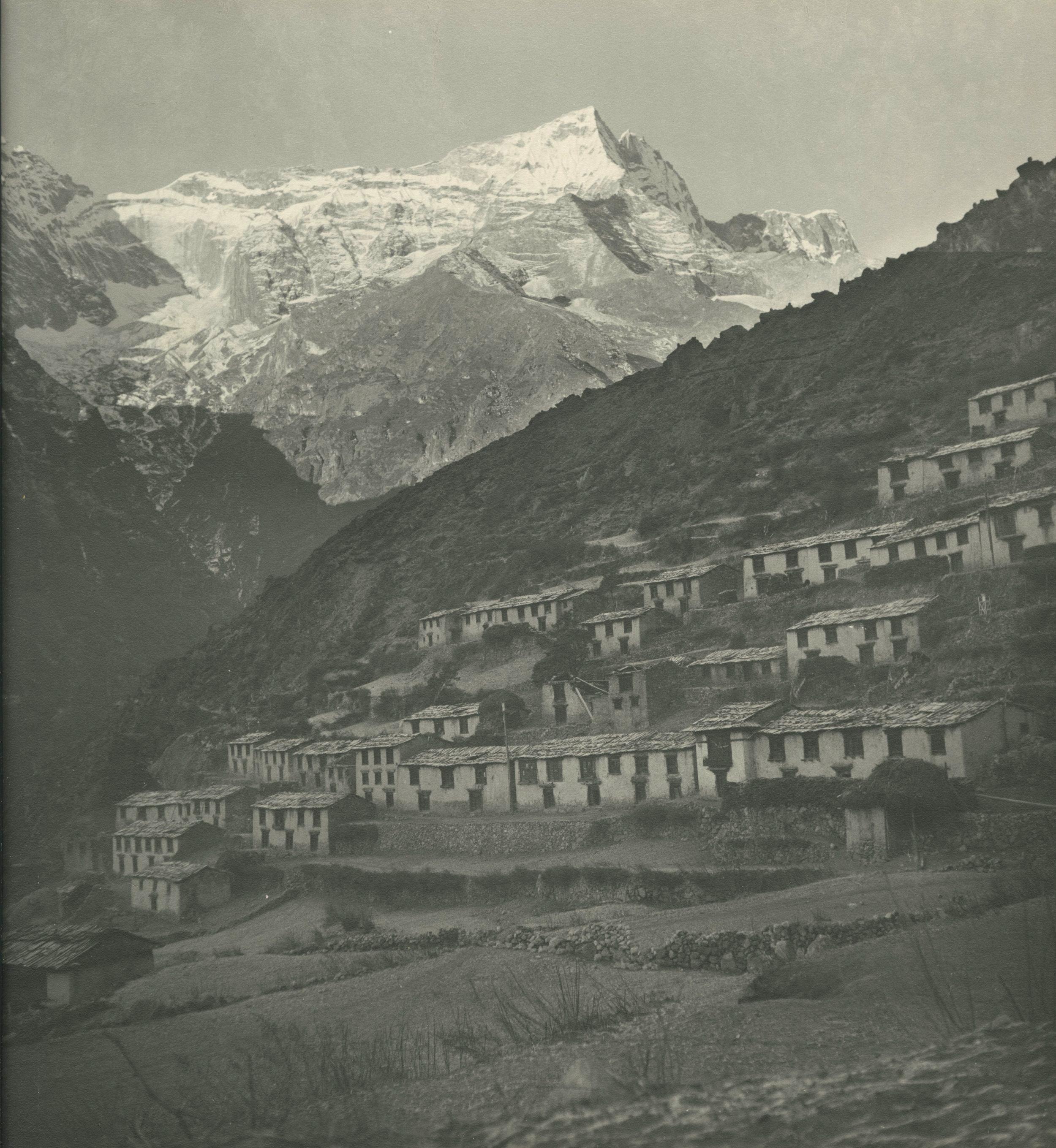 Namche Bazaar in 1950