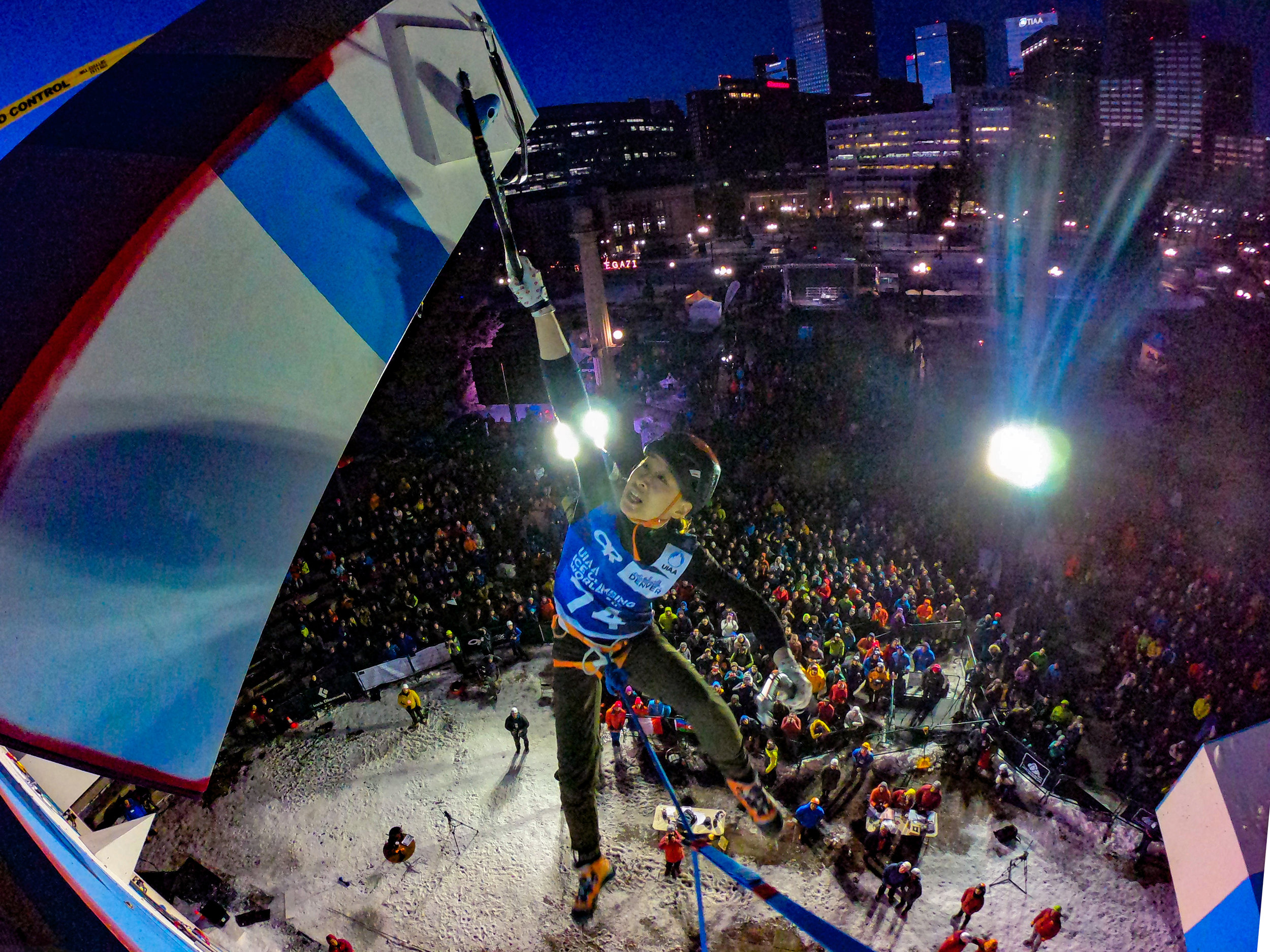 UIAA ICE CLIMBING WORLD CUP FINALS - February 22-24, 2019Denver, Colorado