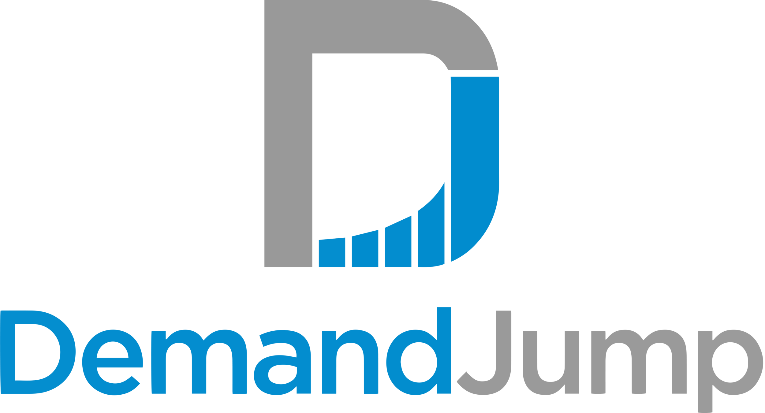 - DemandJump's Artificial Intelligence Marketing (AIM) Platform makes sense of digital data so marketers can discover the largest opportunities specific to their brands, see a single version of truth, eliminate data silos and blind spots, optimize budget allocation and drive revenue growth across all digital marketing channels to grow share of voice, mind and wallet.
