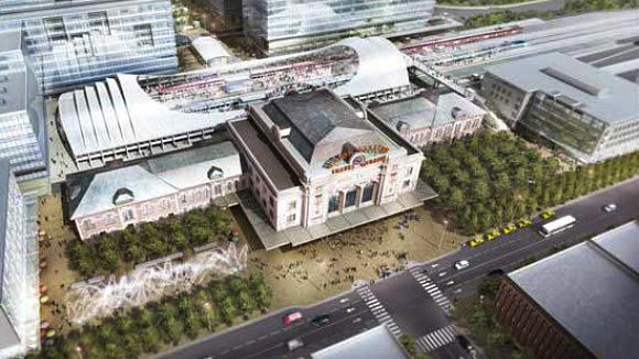 Capturing value from the redevelopment of Denver Union Station will repay two federal loans. (Source: Paco Group)