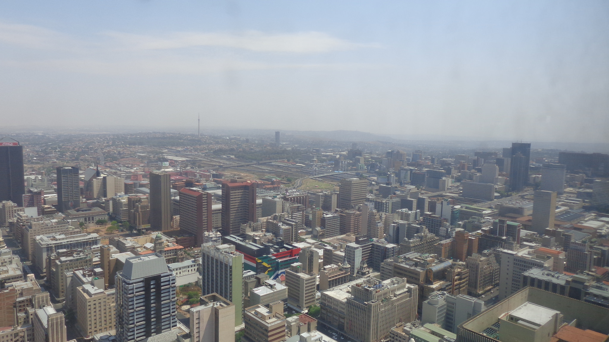 Johannesburg skyline. Source:  Rckr88 Flickr stream  (CC)