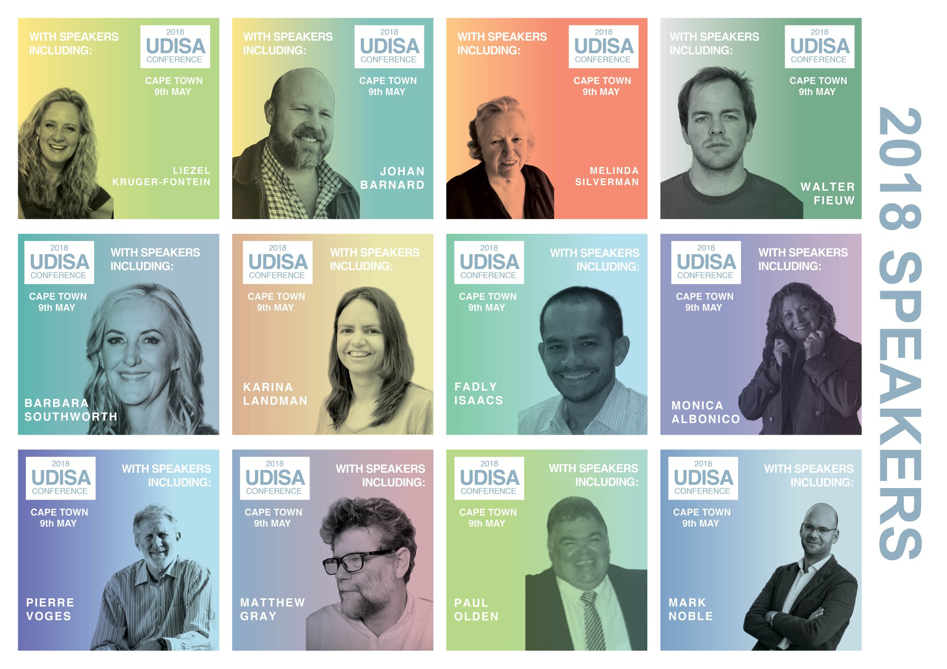 Speakers at the 2018 UDISA Conference. Source: UDISA Facebook page