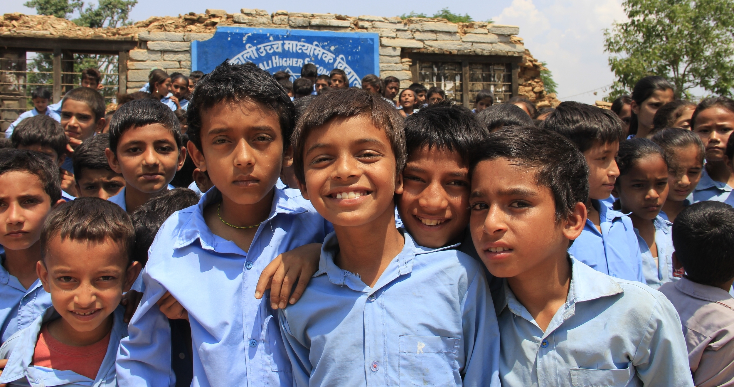 Nepal: Building a Sustainable Future    Donate