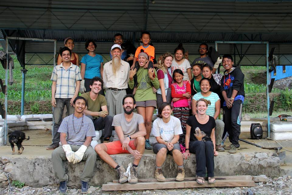 Trainees at Dr. Geiger's Workshop in Collaboration with Good Earth Nepal