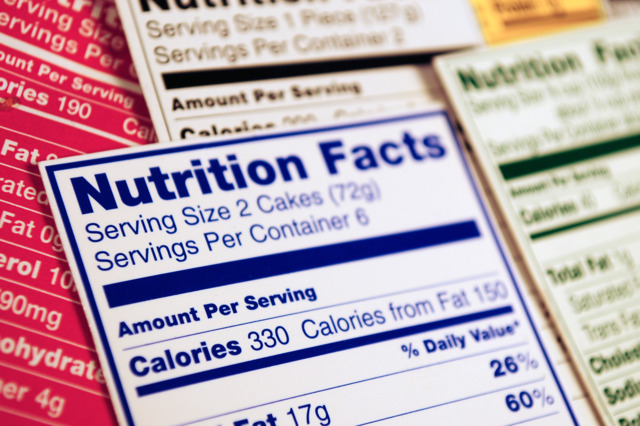 Spending a week getting familiar with nutrition labels and calorie contents will provide a lifetime of benefits via the knowledge base you create in just one week.
