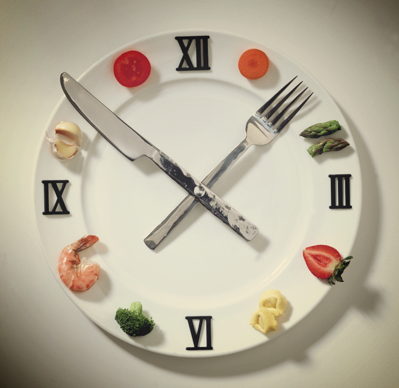 The clock is a powerful environmental trigger for eating