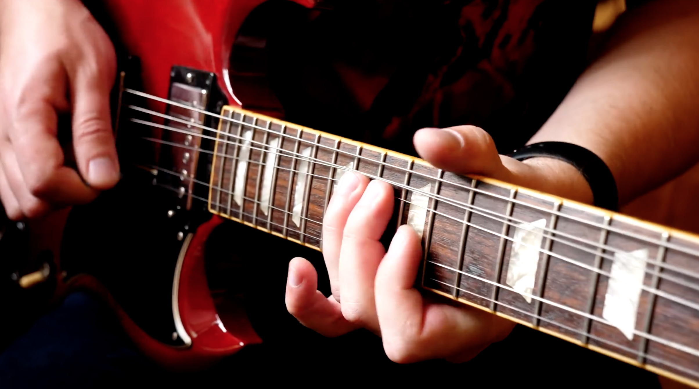 IMPROVISATION - While learning new licks and understanding music theory concepts is crucial to a developing guitar player, actually implementing these things is the key to finding your voice on the instrument, which should be any musician's ultimate goal. Take these lessons with a grain of salt, because they're not meant to teach you exact passages or patterns–they're meant to inspire you and unlock new doors in your creativity.