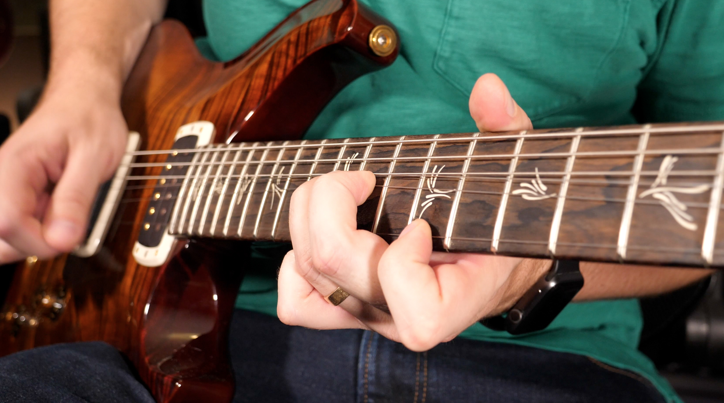 HARMONIC MINOR SCALE - Harmonic minor is an essential scale that is used to outline minor chords in your solos when you want to bring a unique and ominous sound to your guitar playing. One of the three big scales in modern music, alongside major and melodic minor, harmonic minor is heard in jazz, fusion, metal, and other musical genres. Though you may use it less than Major Scale modes like Dorian or Aeolian, the Harmonic Minor Scale contains a cool color that spices up your minor key guitar solos.