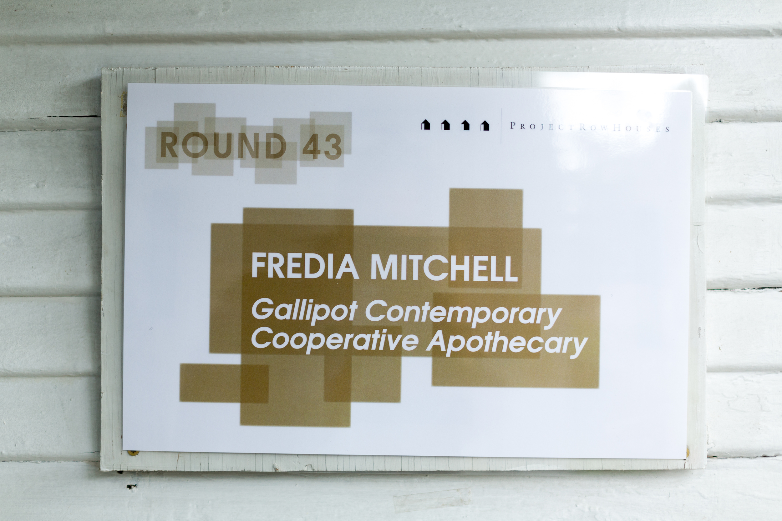 Gallipot Contemporary Cooperative Apothecary , Fredia Mitchell  2517 Holman St.