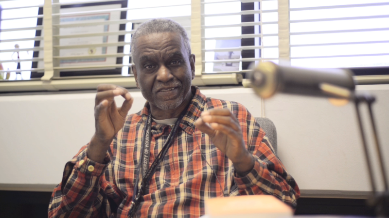 Dr. Gerald Horne recorded by Ronald Jones