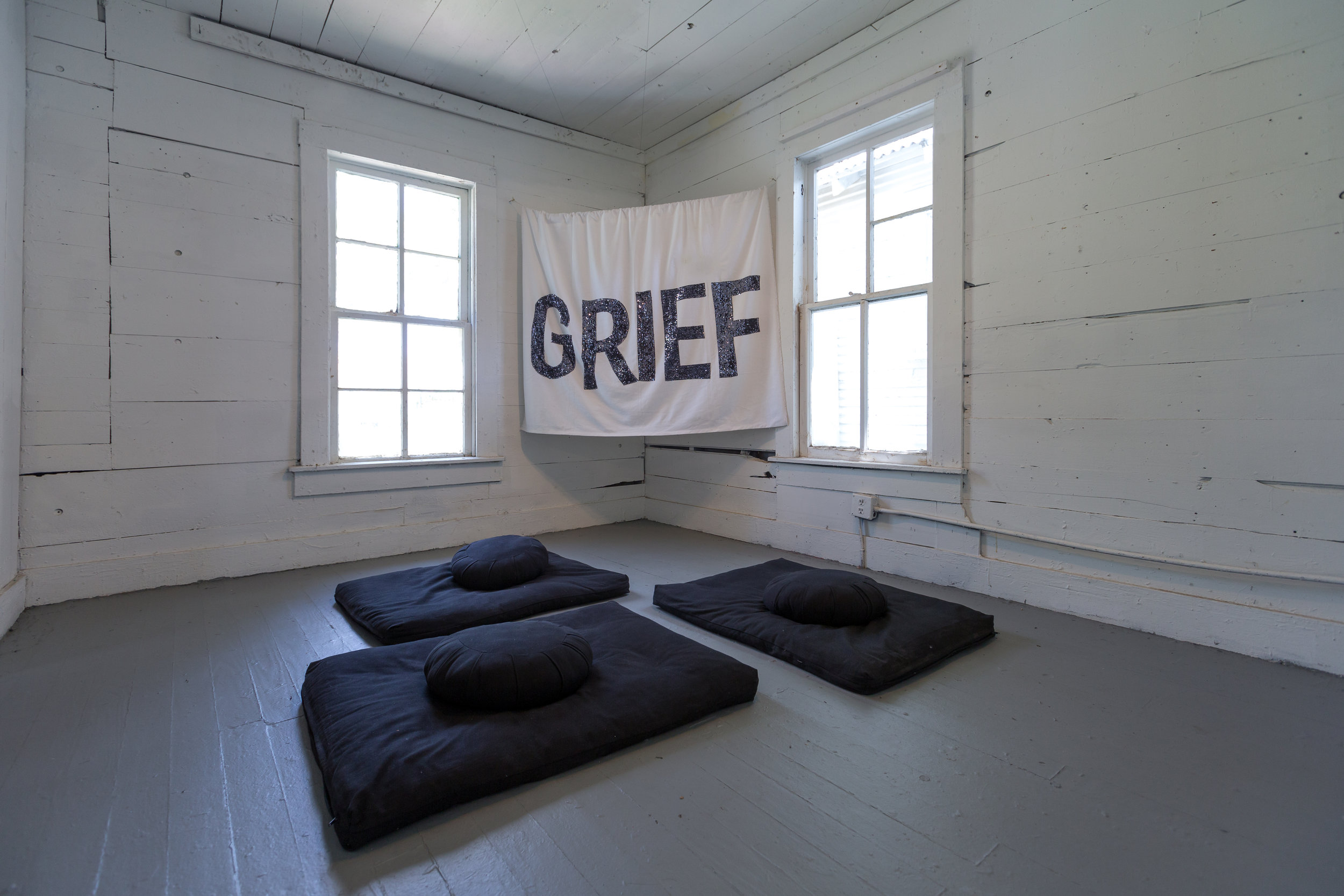 Nine Night , Objects Group of Black Women Artists for Black Lives Matter, 2017, curated by Ryan N. Dennis. Photo by Alex Barber.