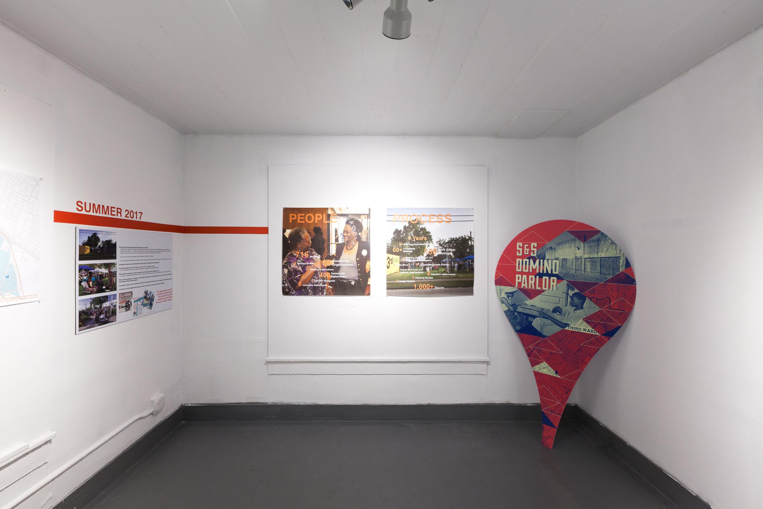 Collaboration Timeline House , Adelle Main, 2017