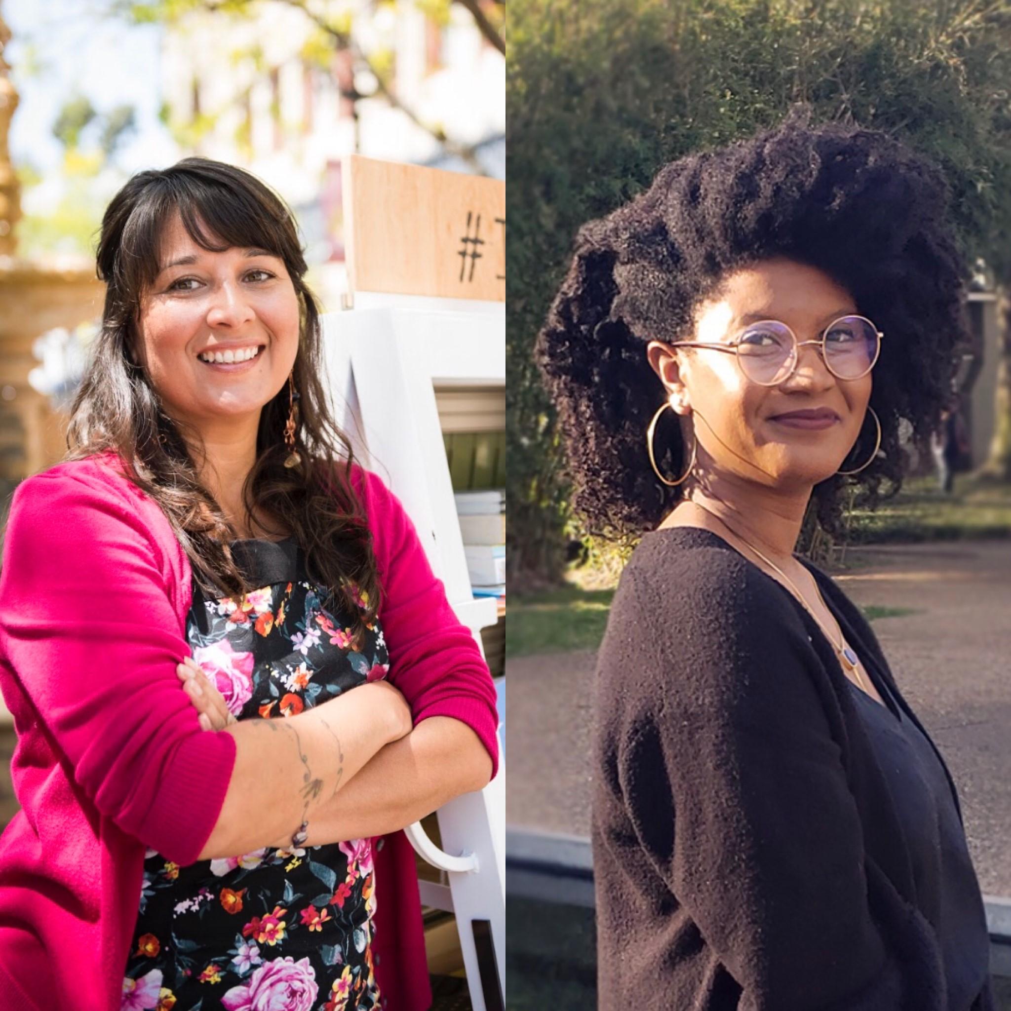 2019 KGMCA-PRH Fellows Sarah Rafael García and Libby Bland