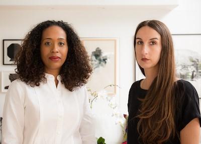 Naima J. Keith and Diana Nawi; photo courtesy of MFAH