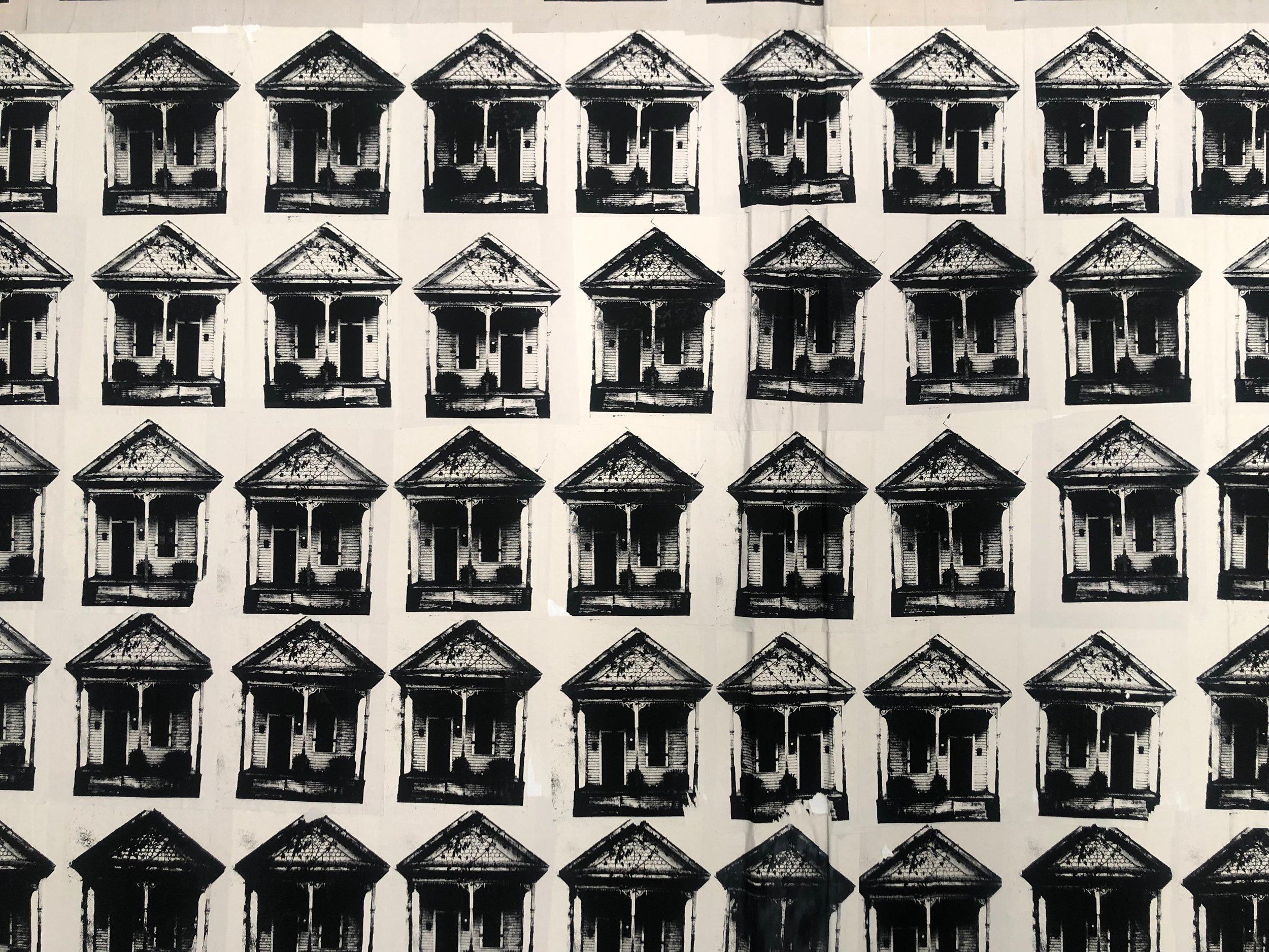 Katarina Guzman, Ten Thousand Shotgun Houses, 2019