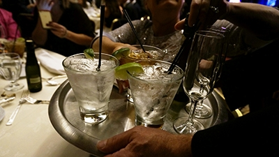 Cheers! A round of drinks in celebration of Daytime Emmy Wins!