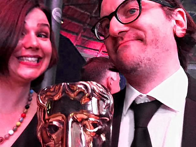 Monica Dennis (Amazon) and Drew Hodges (Bix Pix Entertainment)