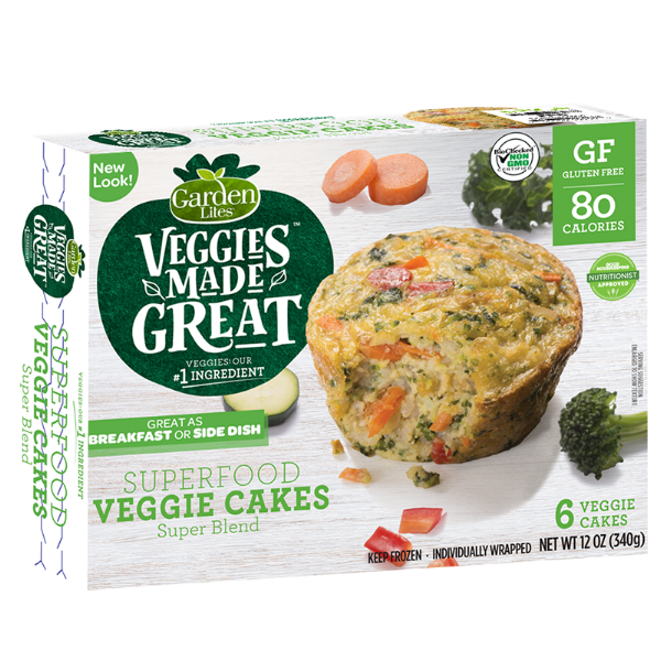 Featuring our  Superfood Veggie Cakes - Superblend ! Click here for more information.