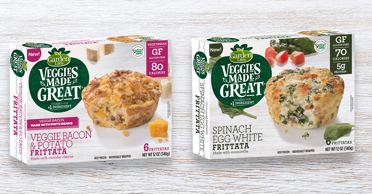 """""""OMG! The frittatas with """"bacon"""" were amazing! Can't wait to see what else is coming! Love your products. Vegetarian and gluten free! Doesn't get any better than that!"""" -"""