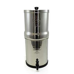 Berkey water filter. Drinking clean water is essential if you want to overcome brain fog.