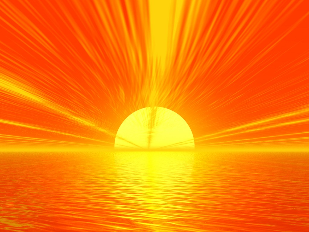 A sunset. Sunlight and Vitamin D is important in order to prevent and reverse cognitive decline and dementia.