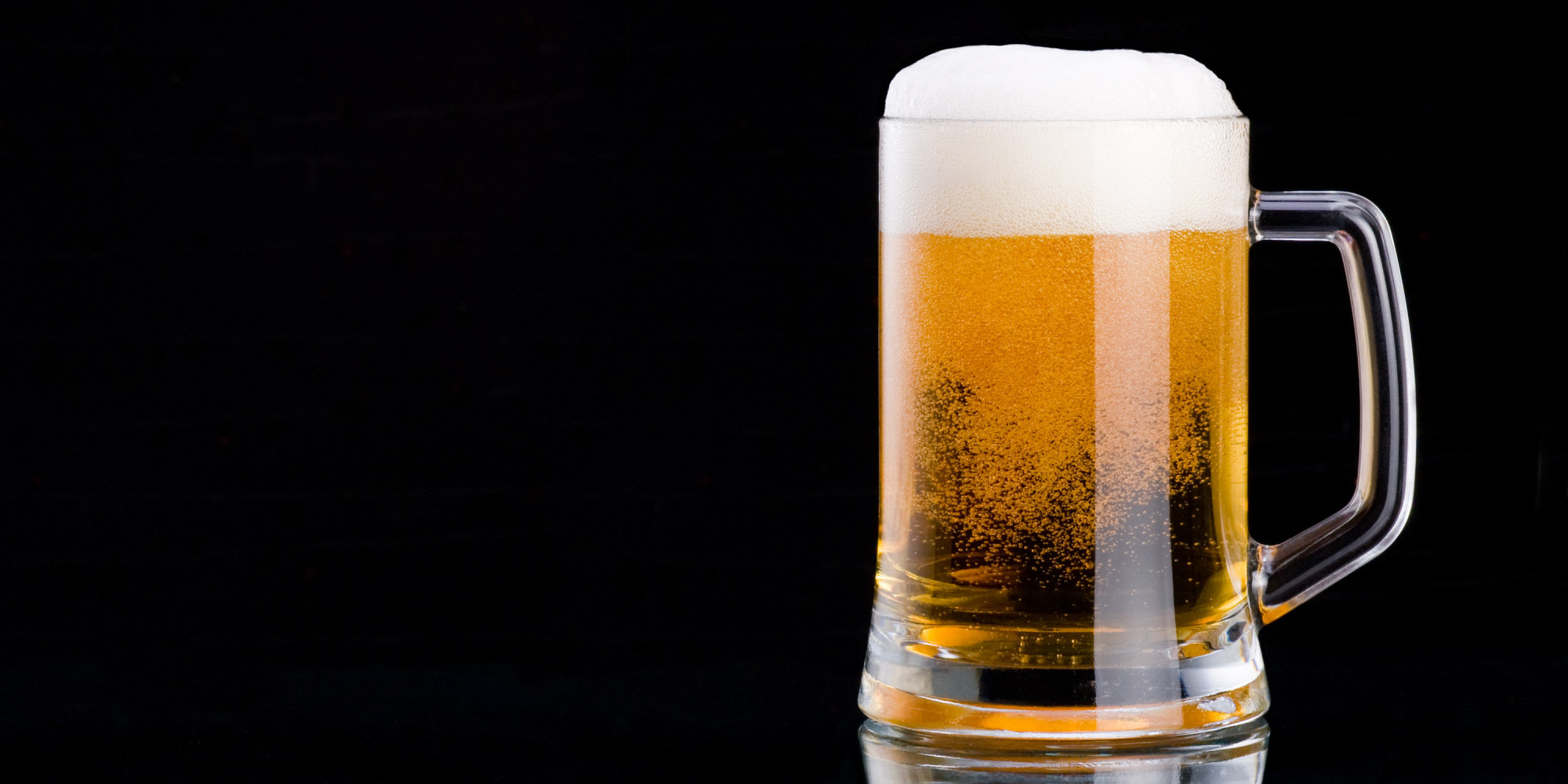 A mug of beer. Alcohol should be avoided if wanting to reverse brain damage since it is a neurotoxin.