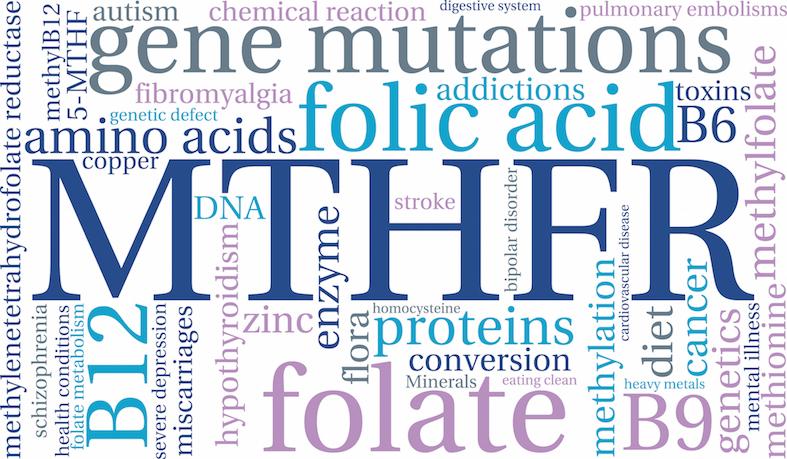 MTHFR gene mutation.