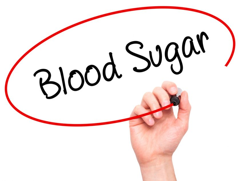 Blood sugar.