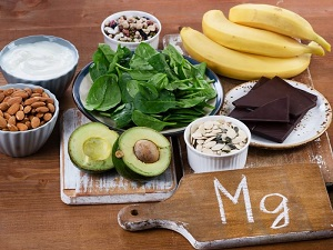 Magnesium rich foods, including spinach, avocados, bananas, almonds. Magnesium helps the brain form new synapses.