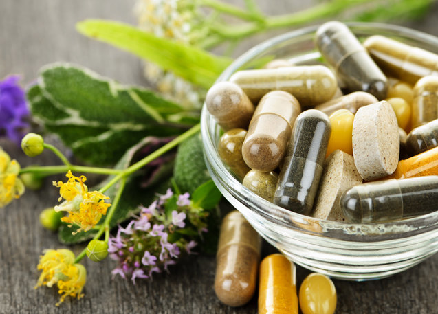 An image of several different natural supplements