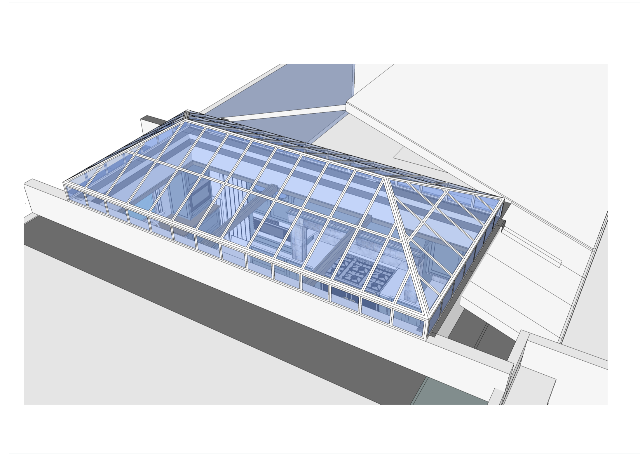 Conservatory Skylight under consideration
