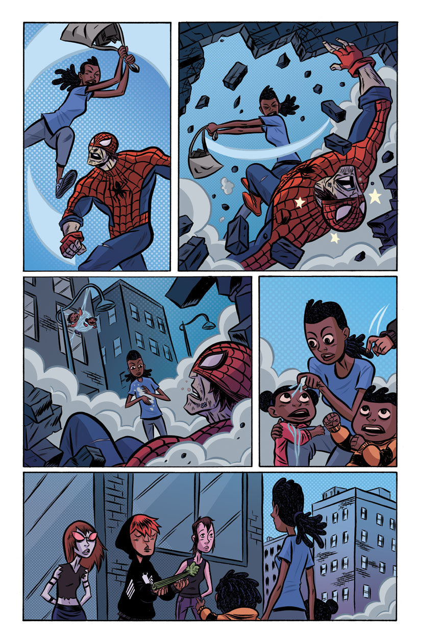 Spider-Island: I Love New York City (Marvel Comics,2011)