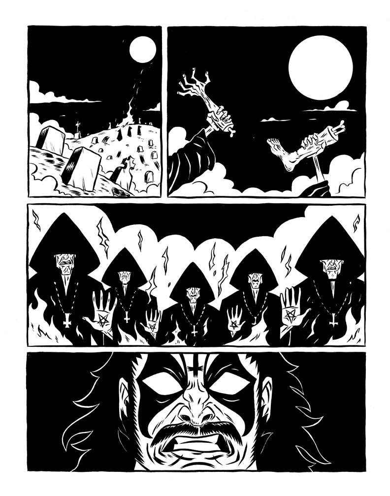 Satan Is Alive: Tribute to Mercyful Fate (CV Comics 2012)