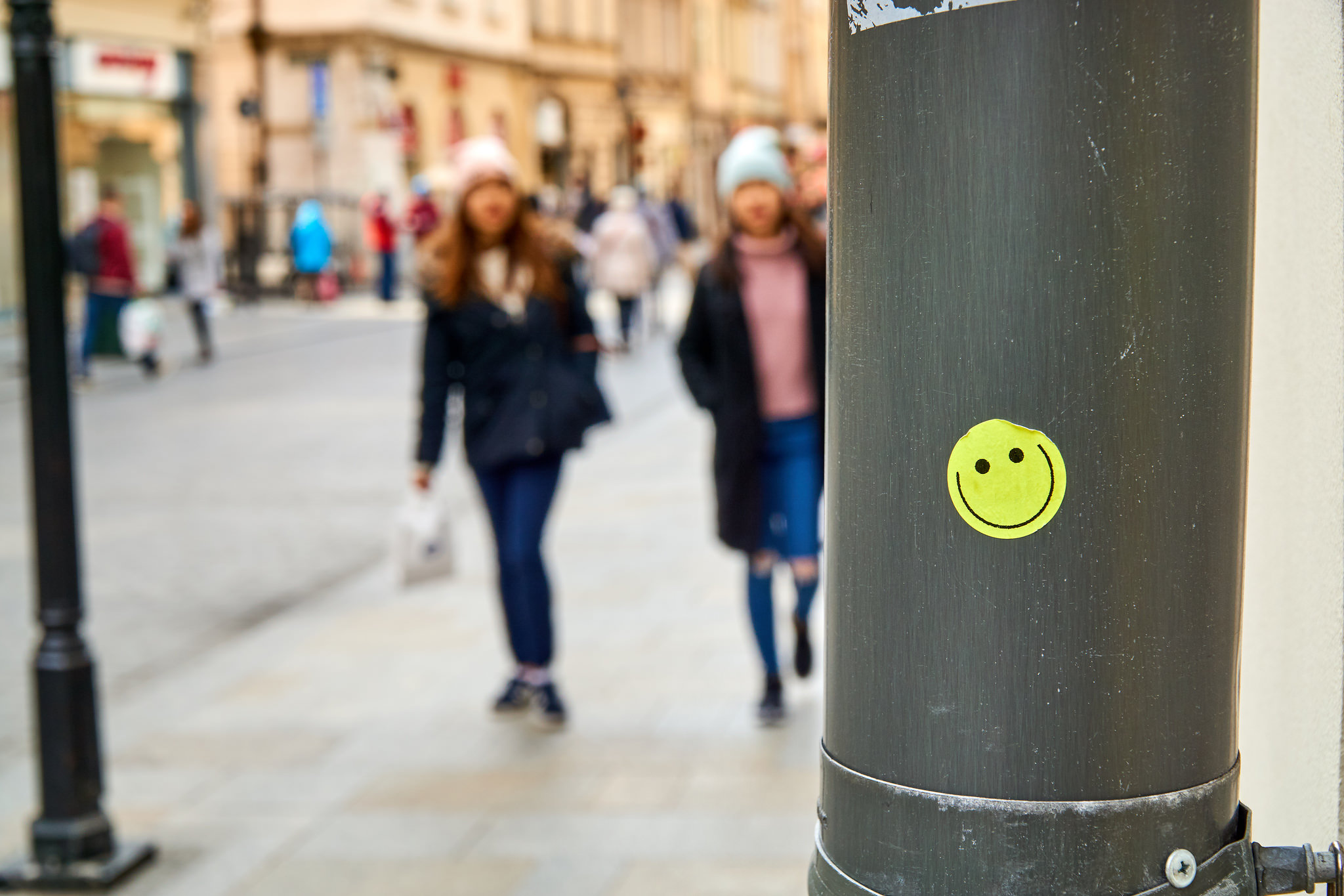 Photo:  be happy everywhere  by  Stephan Welz  ( CC BY 2.0 )