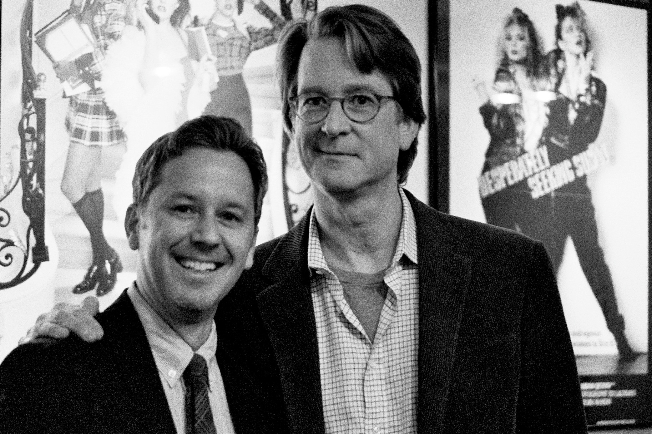 With screenwriter David Koepp ( Jurassic Park, Mission: Impossible, Spider-Man, War of the Worlds, Jack Ryan: Shadow Recruit ) at the 101 Things I Learned in Film School colloquy at the Cantor Film Center in Manhattan.