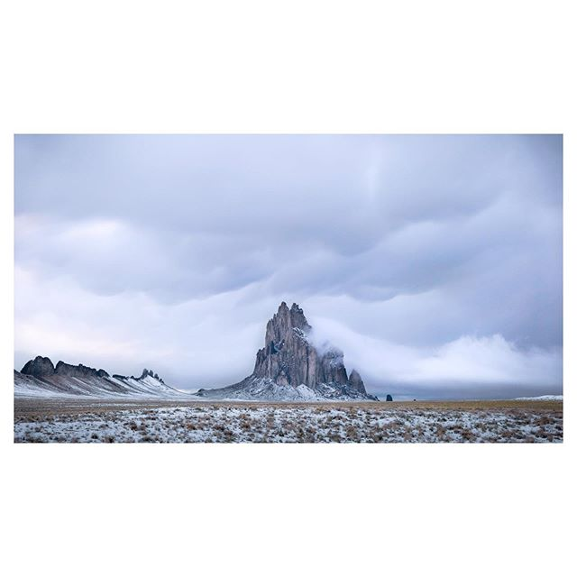 On location #shiprock #newmexico