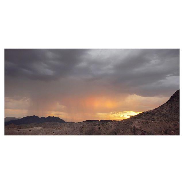 Water and light. #desert #landscape